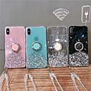 economico Custodie per iPhone-Custodia Per Apple iPhone 11 / iPhone 11 Pro / iPhone 11 Pro Max Liquido a cascata / Supporto ad anello Per retro Glitterato TPU