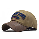 povoljno Muški šeširi-Muškarci Uniseks Jednobojni Osnovni PU Pamuk-Šilterica Proljeće Ljeto Crn Lila-roza Navy Plava