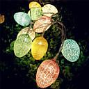 ieftine Fâșii Becurie LED-1 buc setează ouă de Paște 10 leduri de sfoară de 1,5m leduri fericite de lumină de Paște luminoase decorațiuni calde de Paște alb alb