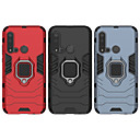 abordables Etuis / Couvertures pour Huawei-cas pour huawei scène carte huawei p30 p30 lite p30 pro iron man série anneau invisible support pc tpu 2-en-1 armure anti-chute étui de téléphone