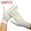 povoljno Elektronika za osobnu njegu-Rukavice od lateksa za jednokratnu uporabu bijele neklizajuće kiseline i alkalne laboratorijske gumene rukavice od lateksa