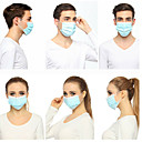 povoljno Elektronika za osobnu njegu-50 pcs 3-Layer Maska za lice Protection 3 sloja Na lageru Nonwoven Fabric CE Certifikat Anti-Magla Prijenosno Protiv prašine Uniseks Plava