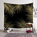 billige Vægdekorationer-5 størrelser tropisk plante blomster tapestry væg hængende polyester tynd bohemia kaktus banan bladprint tapestry strand håndklæde pude