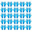 povoljno Elektronika za osobnu njegu-50pcs zaštite od prašine za jednokratnu upotrebu rukavice protiv bakterija medicinska zaštitna maska za čišćenje višenamjenskih kompaktnih rukavica 50pcs