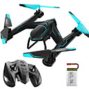 RC Drone JY 018 4 Channel 6 Axis 2.4G 720P HD Camera 2.0MP RC Quadcopter One Key Auto-Return / Headless Mode / Upside Flight RC Quadcopter / Remote Controller / Transmmitter / 1 Charging