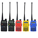BAOFENG UV-5RA Walkie Talkie Intercom Handheld / Digital Voice Prompt / Dual Display 1.5KM-3KM 1.5KM-3KM 128 1800 mAh 5W Two Way Radio / 136-174MHz / 400-520MHz /Dual-Band Transceiver