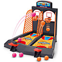 Board Game Mini Finger Basketball Shooting Game Basketball Hoop Basketball Hoop Set Portable Professional Focus Toy Relieves ADD, ADHD, Anxiety, Autism Adjustable Fun Classic Theme Indoor Plastics 3