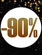 Op til 90 % rabat