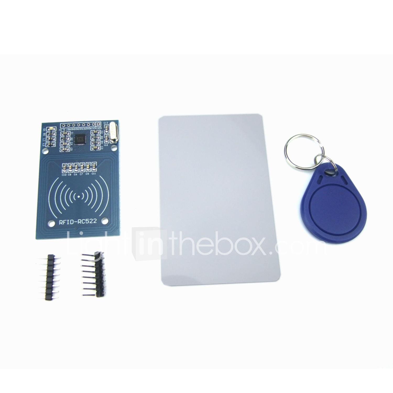 MFRC-522 RC522 RFID Module IC Card Induction Sensor Free S50 Card Key Chain CYC