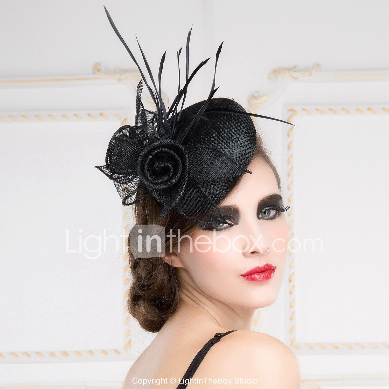 Women S Flax Headpiece Wedding
