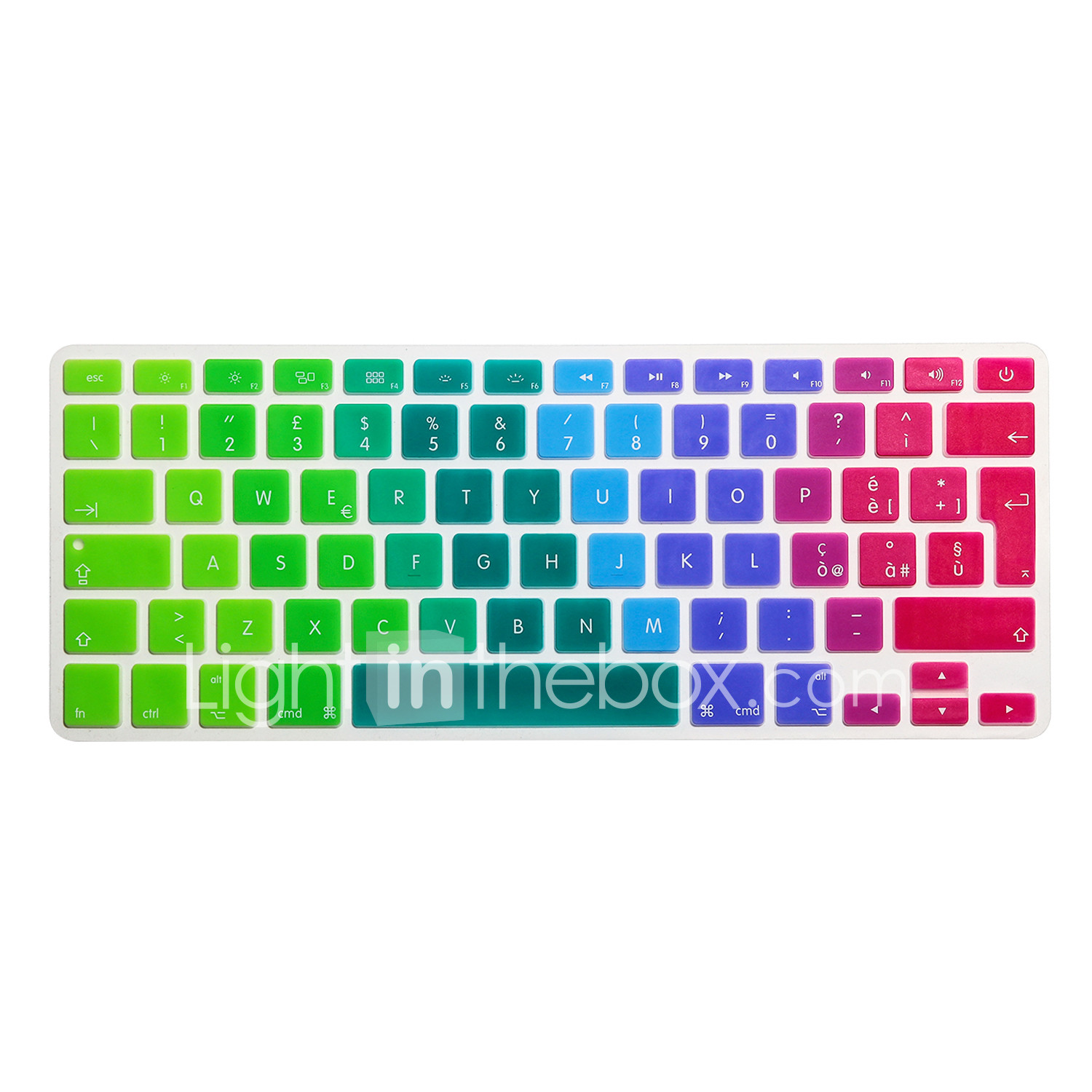 """Thai Keyboard Cover Skin Protector For MacBook Air 11/"""" 11.6 Inch English Version"""