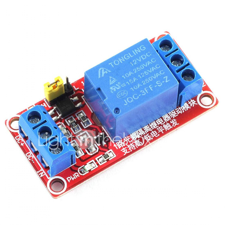 5V DC Four 4 Channel Relay Module for Arduino Raspberry Pi Pic AVR HK Sj