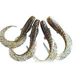 economico -4 pc Esche morbide Confezioni di esche Esca Confezioni di esche Esche morbide Silicone Pesca di mare Pesca di acqua dolce Pesca persico