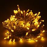 Длиной 10 м светодиодной гирлянды на Рождество украшения цвета: теплый белый