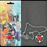 Недорогие -Бижутерия Вдохновлен Наруто Sasuke Uchiha Аниме Косплэй аксессуары Ожерелья Сплав Муж. новый горячий