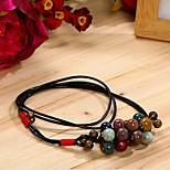 богемный многоцветной ручной керамические ожерелье Unisex автора