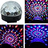 cheap -Voice Activated RGB LED Colorful Rotating Spot Light Bulb Lamp for Party Us Plug