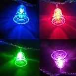 Рождественские колокольчики 4,5 28 привели красочные струнные светильники