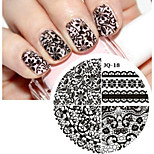 cheap -Nail Art Stamp Stamping Image Template Plate JQ Series NO.18