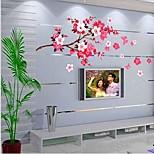 Недорогие -Натюрморт Романтика Мода ботанический Наклейки Простые наклейки Декоративные наклейки на стены, Винил Украшение дома Наклейка на стену
