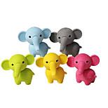 милый слон резиновый съемный дий-ластик школьник дети игрушка случайный цвет