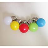 Недорогие -цвет e27 водить шарика 0.33w пластиковый абажур фонарь выделенный ночник (220В)