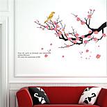 Недорогие -Пейзаж Геометрия Цветы ботанический Наклейки Простые наклейки Декоративные наклейки на стены, Винил Украшение дома Наклейка на стену Стена