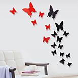 Недорогие -Животные Мода Наклейки Простые наклейки Декоративные наклейки на стены материал Положение регулируется Украшение дома Наклейка на стену