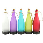 5PCS Solar Bottle Lamp LED Decoration Light Interspersion Pendant Light Multicolor
