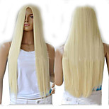 Fashion Blonde Long Straight Synthetic Perruque Lolita Anime Peruca Harajuku Hair Wig Sex Products Cheap Cosplay Wigs