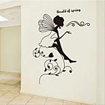Недорогие -дом съемного маленького животного детской комнаты / спальни стикер стены