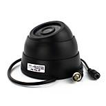 Объектив для домашнего наблюдения yanse® cctv 3,6-мм объектив с защитной камерой для купольной камеры с ИК-подсветкой - инфракрасные светодиоды 24 шт.