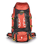 55 L Rucksack Climbing Leisure Sports Camping & Hiking Waterproof Dust Proof Wearable Multifunctional