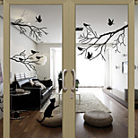 cheap -Animal Contemporary Door Sticker Material Window Decoration Dining Room Bedroom Office Kids Room Living Room Bath Room Shop /Cafe Kitchen