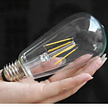 E26/E27 LED Globe Bulbs Integrate LED lm Warm White Yellow 2300K-2700K Decorative