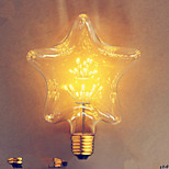 e27 2w star star edison hotel der bar lâmpada decorativa 110v220v