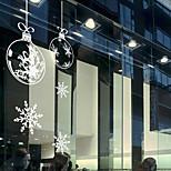 Недорогие -Ар деко Современный Стикер на окна, ПВХ/винил материал окно Украшение Столовая Спальня Офис Детская Для гостиной Магазин / Кафе