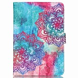 cheap -Case For Apple iPad mini 4 iPad Mini 3/2/1 with Stand Flip Pattern Auto Sleep/Wake Up Full Body Cases Mandala Hard PU Leather for iPad