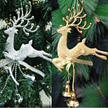 Недорогие -домой новогодняя елка орнамент олень Читал висит рождество безделушки украшение партии