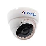 Sorveglianza domestica del yanse® cctv con la macchina fotografica di sicurezza della cupola tagliata - leds a infrarossi 36pcs