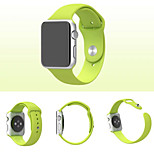 cheap -Watch Band for Apple Watch Series 3 / 2 / 1 Apple Sport Band Silicone Wrist Strap