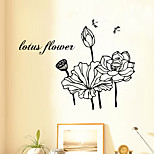 cheap -9281  Flower for Cafe Room Wall Stickers with For Living Room Decorations Wall Decals