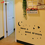 cheap -AWOO® Good Night Wall Sticker DIY Home Decorations Quotes Vinyl Wall Decals Wall Mural Art