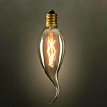 C35L Pull The End Of The Yellow E14 220V-240V 25W Small Edison Screw Light Bulb