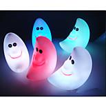 abordables -lune nouveauté en forme de lampe changeant de couleur coloré conduit lumière de nuit d'énergie