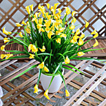 Недорогие -1 Филиал Полиэстер Калла Букеты на стол Искусственные Цветы