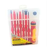 rewin® herramienta 8pcs conjunto de aislamiento destornillador eléctrico / juego de destornilladores con aislamiento eléctrico