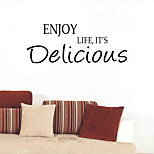 cheap -Words & Quotes Wall Stickers Plane Wall Stickers Decorative Wall Stickers, Vinyl Home Decoration Wall Decal Wall