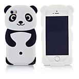 новый самый популярный мило 3d панда задняя часть силикона мягкий телефон защитный чехол кожи чехол для Apple Ipod прикосновения 6/5