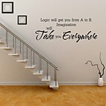 cheap -Love carved English Characters Modern Wall Stickers Home Decorative Vinyl Sticker